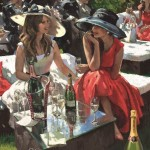 Hat featured in the latest Bollinger Champagne Advert