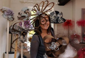 2 November 2011  ..........  Milliner Jenny Roberts, Adorn Hats in Harrogate