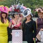 Judging the 'Best Hat' at Thirsk Ladies Day