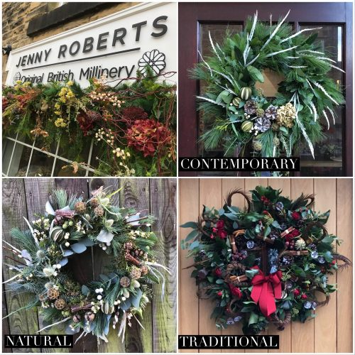 You design we create luxury wreaths